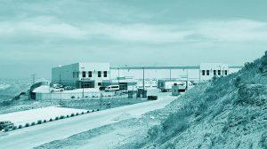Tijuana Mexico Facility Blue Tint
