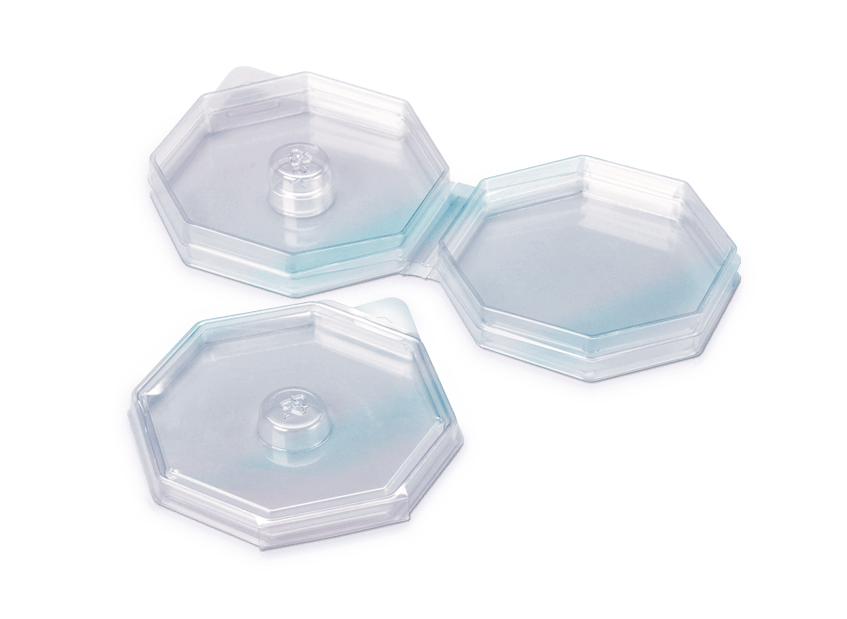 Clear PETG Small Clamshell Image