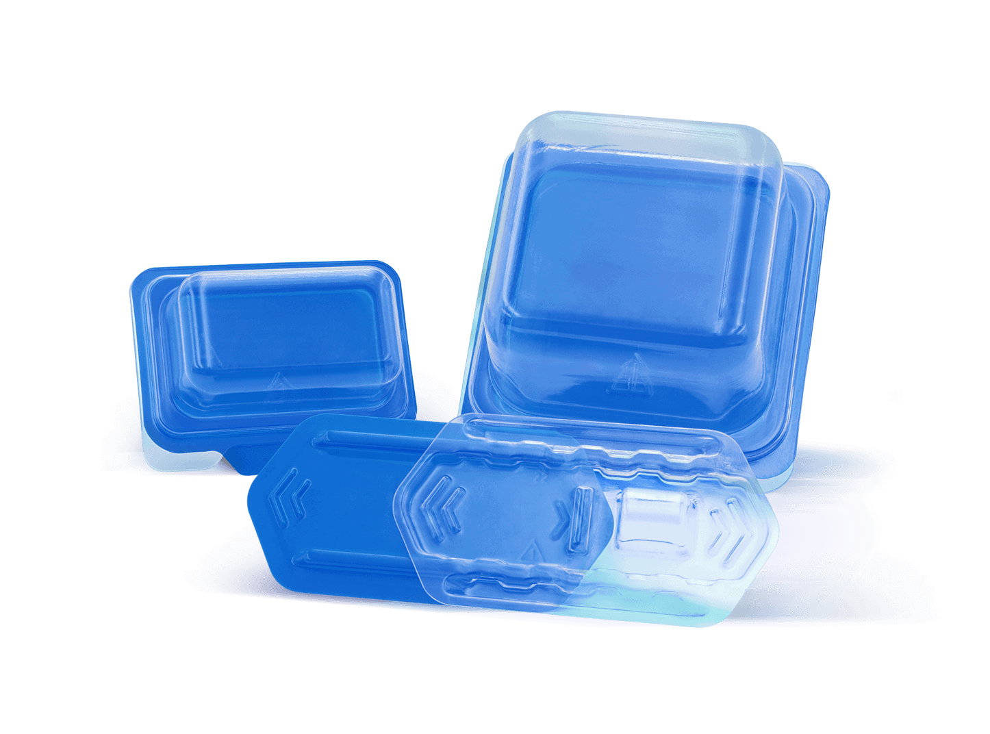 Dental Packaging with Sliding Tray and Box