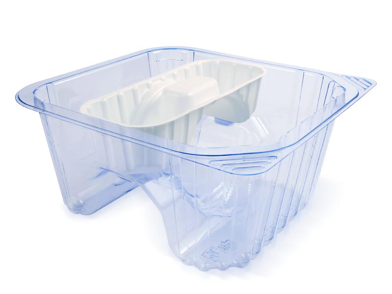 Blue and Foam PETG Deep Tub