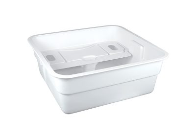 White HIIPs Deep Tub for Medical Industry