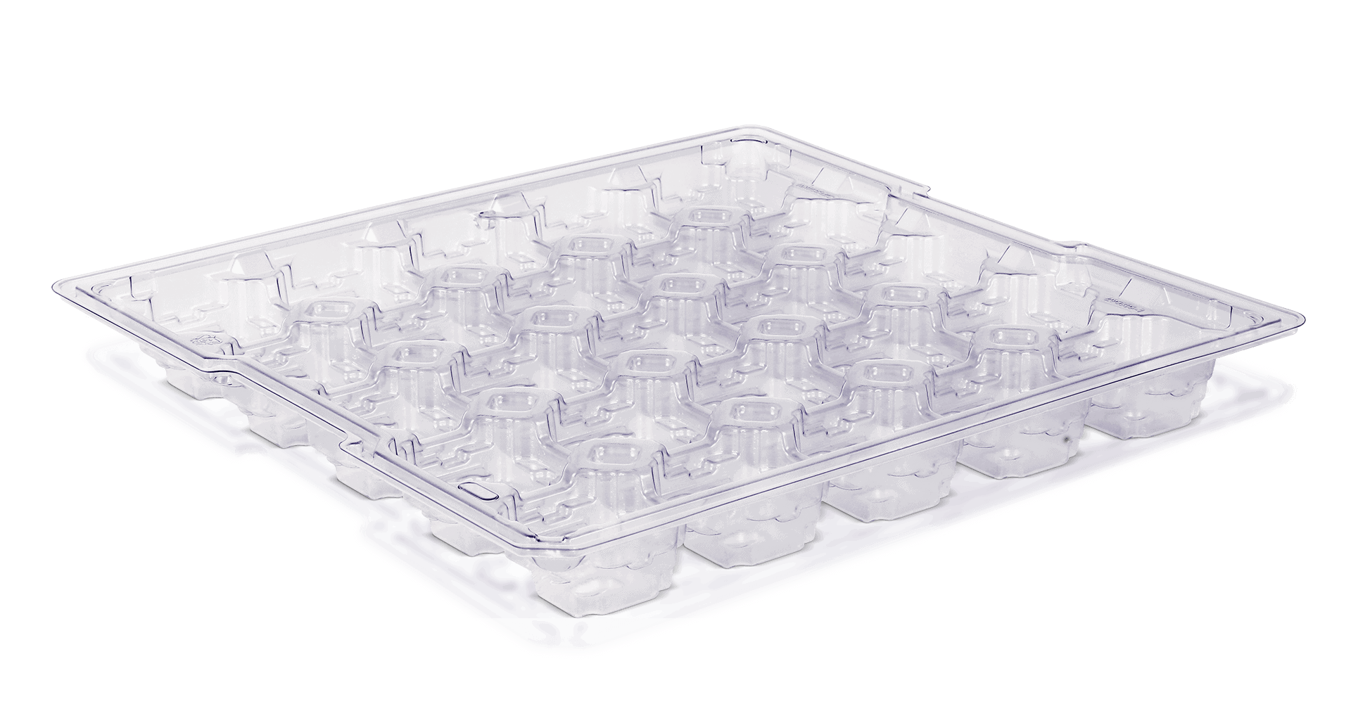 Clear PETG Handling Tray Home