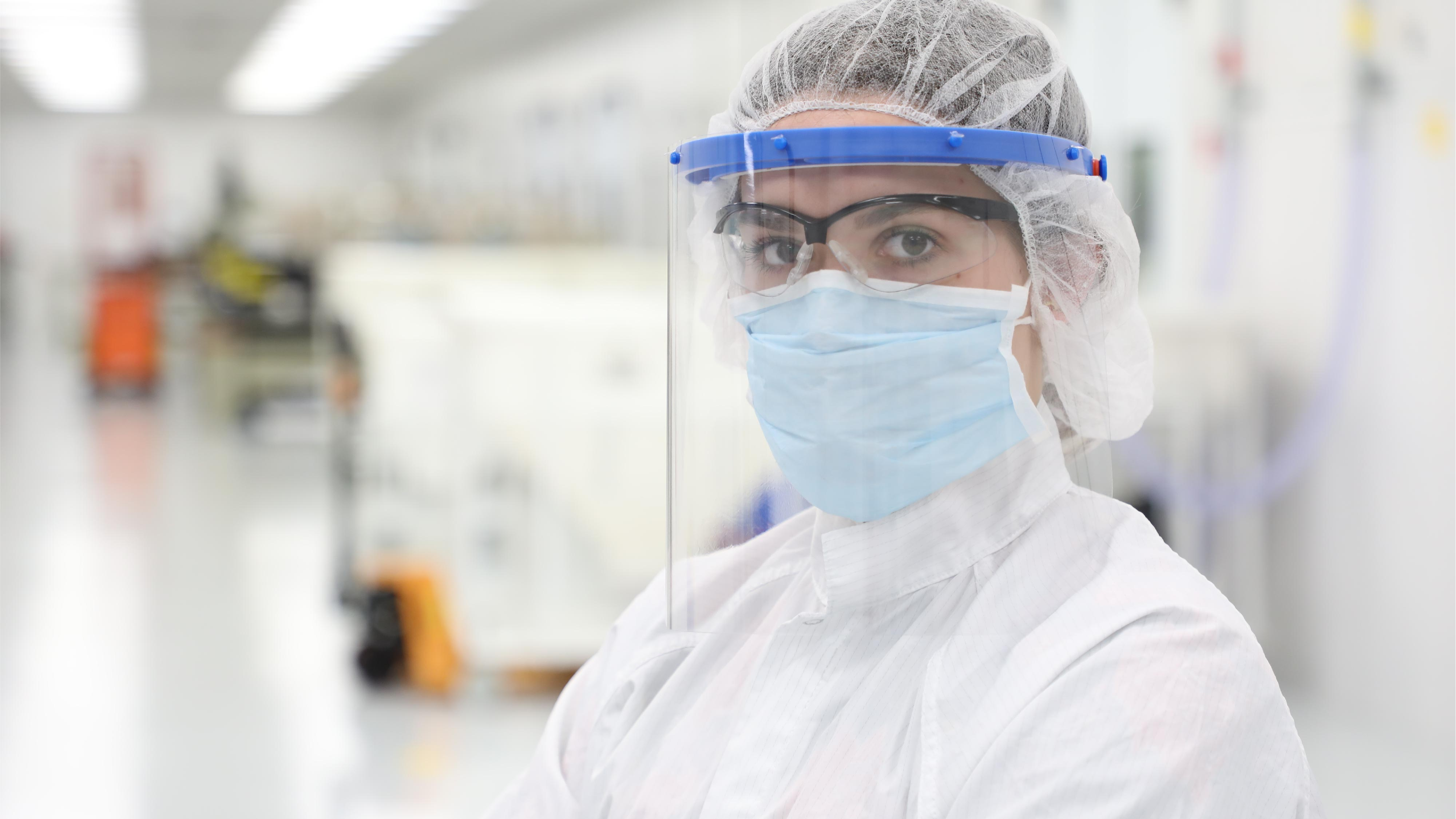 Face Shield Cleanroom